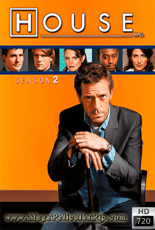Dr. House Temporada 2 [720p] [Latino-Ingles] [MEGA]