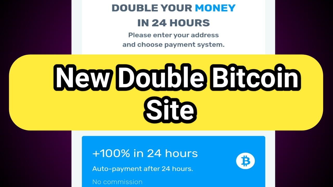 Double bitcoins in 100 hours later moors betting