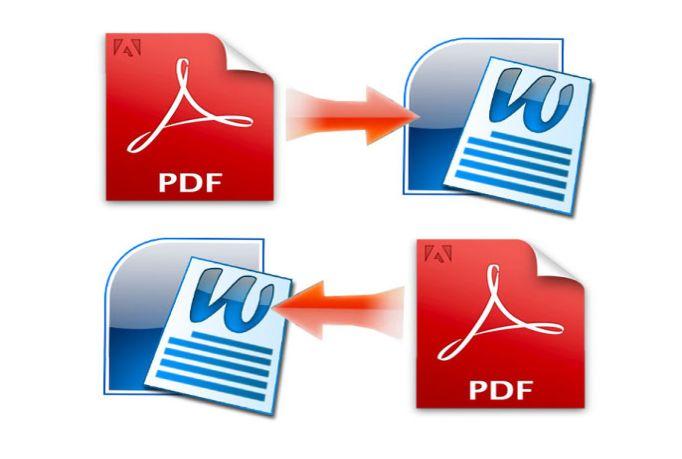 Merubah File PDF ke Ms Word dan Ms Word to PDF