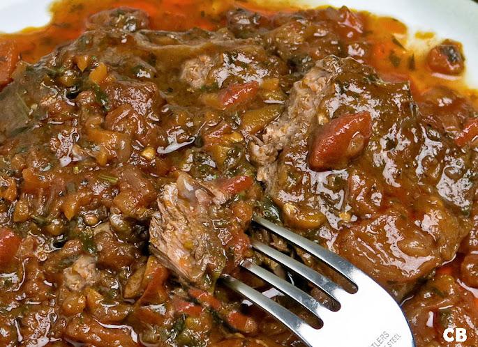 Botermals Italiaans draadjesvlees