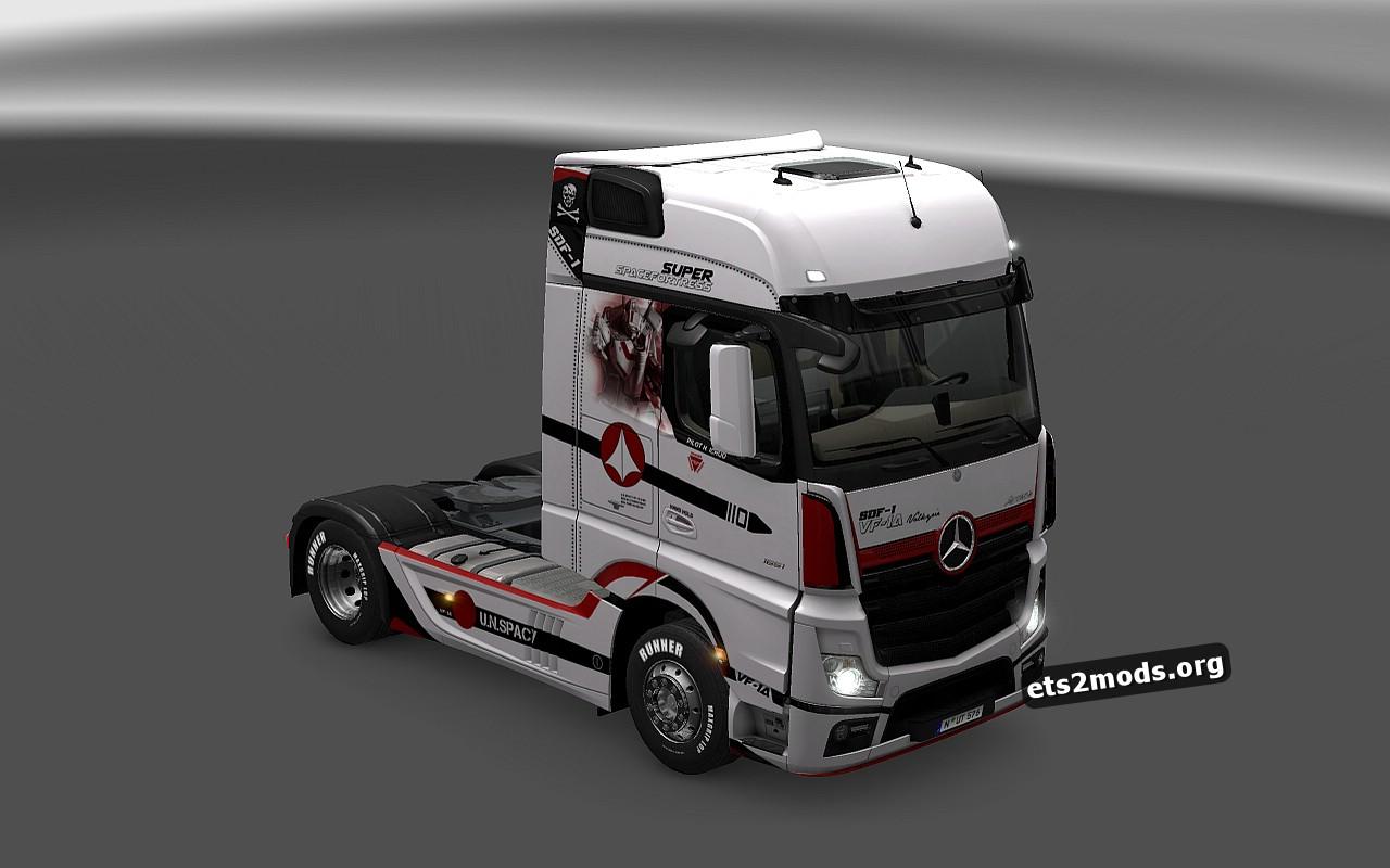 Macross Skin for Mercedes MP4