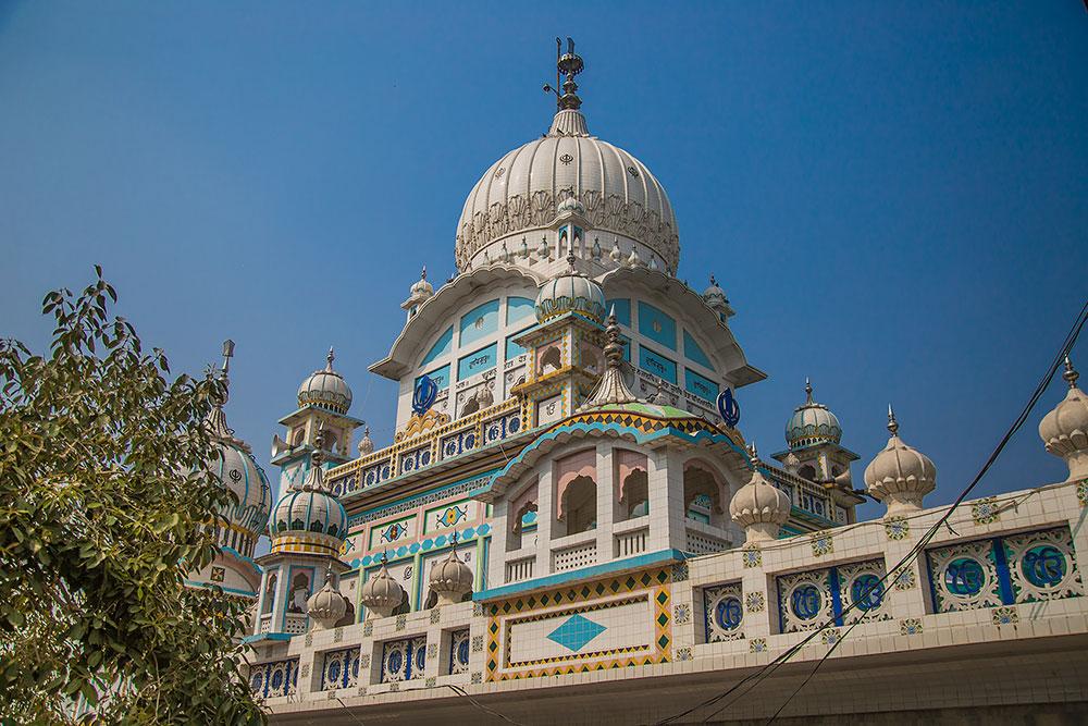 gurudwara bindrakh sahib a sikh pilgrimage in punjab india