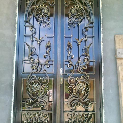 cửa sắt 2 cánh đẹp