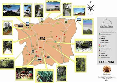 Lokasi Wisata Puncak Suroloyo