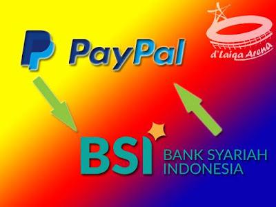 PayPal & Bank Syariah Indonesia (BSI)