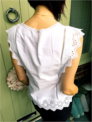 My Midlife Fashion, Broderie Top