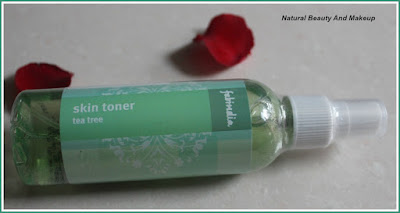 Review of Fabindia Tea Tree Skin Toner only on Natural Beauty And Makeup blog
