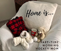 Blog With Friends, a multi-blogger project based post incorporating a theme, Home | Home is . . . by Tamara of Part-time Working Hockey Mom | Featured on www.BakingInATornado.com