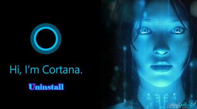 تخلص من خاصية  Cortana بشكل نهائى فى ويندوز 10