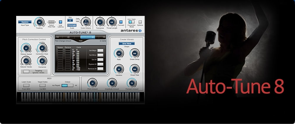 Auto-Tune 8.1 by Antares Download