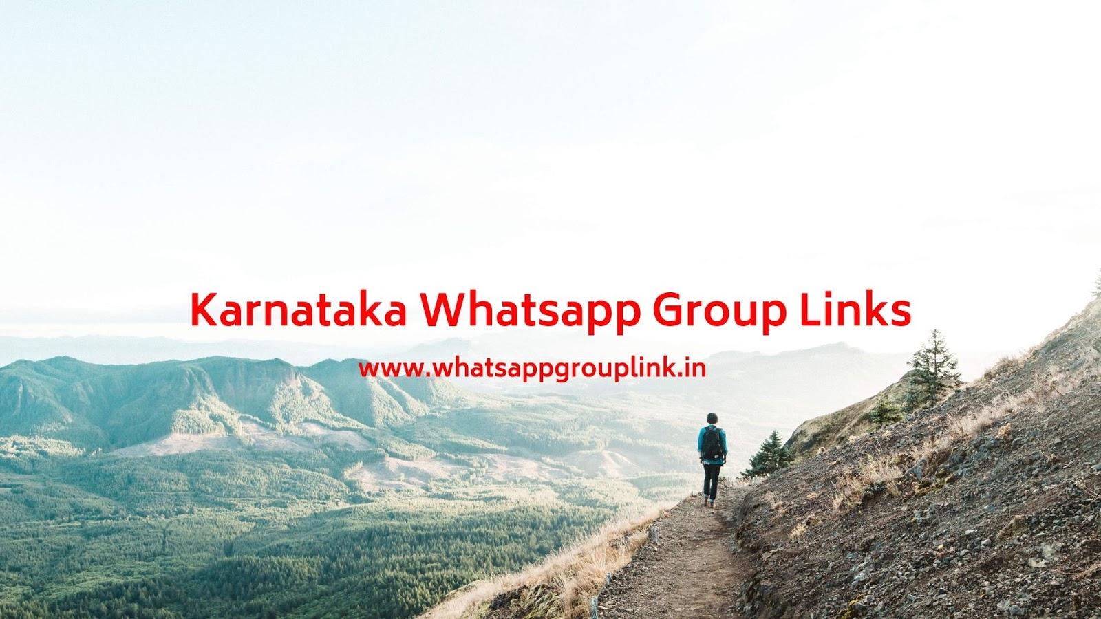 Whatsapp Group Link: Karnataka Whatsapp Group Links