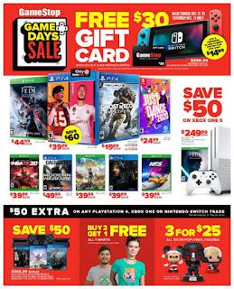 Gamestop Weekly Ad This Week December 22 - 28, 2019