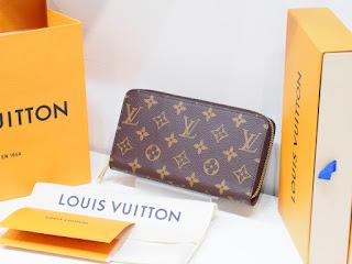 ヴィトンの新品・未使用品の財布を高くお買い取り致します(税抜き)定価の87% ジッピーウォレット(M42616)買い取り致しました