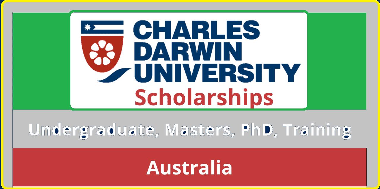 منحة جامعة تشارلز داروين الدراسية 2022 (عملية التقديم)