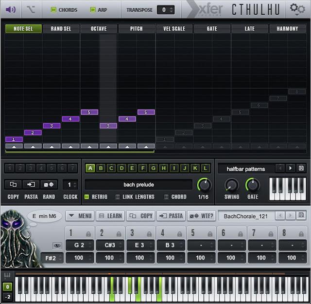 Interface do Plugin Xfer Records - Cthulhu 1.216
