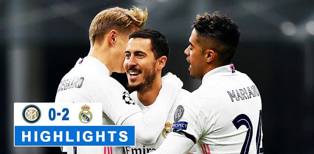 Inter vs Real Madrid – Highlights
