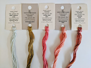 The Gentle Art Sampler Threads Simply Shaker