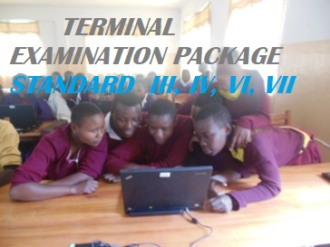 TERMINAL EXAMINATION PACKAGE STANDARD  III, IV, VI, VII