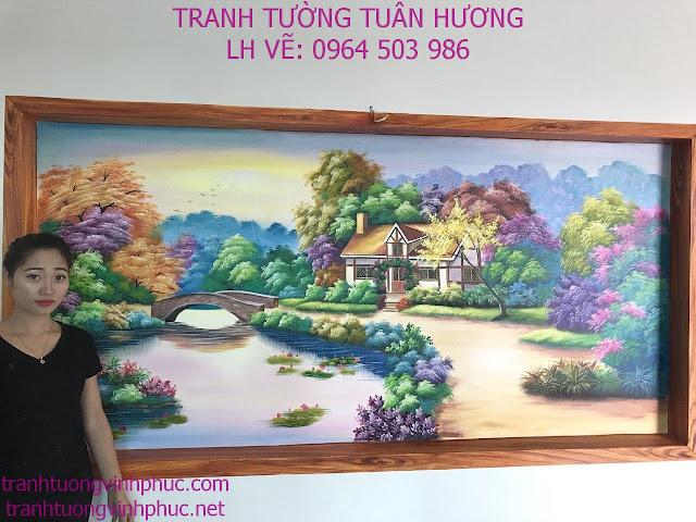 vẽ tranh tường tại xuân hòa phúc yên vĩnh phúc3