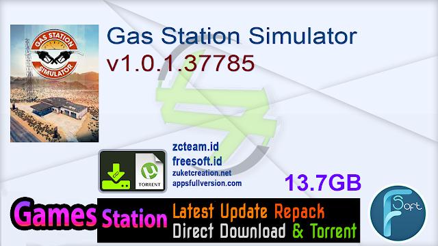 Gas Station Simulator v1.0.1.37785