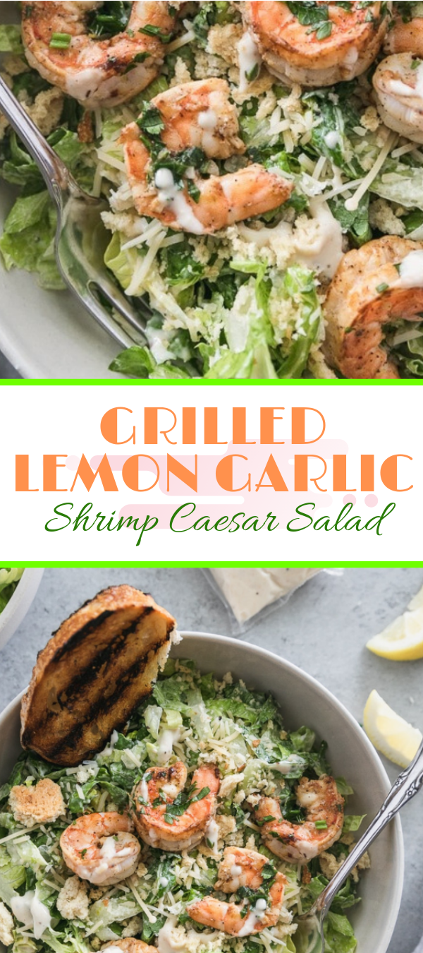 GRILLED LEMON GARLIC SHRIMP CAESAR SALAD #salad #lemon #shrimp  ѕhrіmр саеѕаr ѕаlаd саlоrіеѕ,   shrimp саеѕаr salad wіth avocado,   ѕрісу shrimp caesar salad,   ѕаutееd ѕhrіmр саеѕаr salad,   ѕhrіmр саеѕаr wrар,