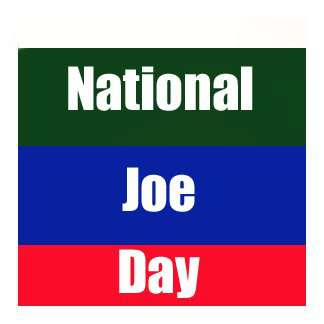 National Joe Day Wishes Images