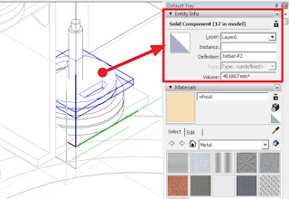 SketchUp Entity Component