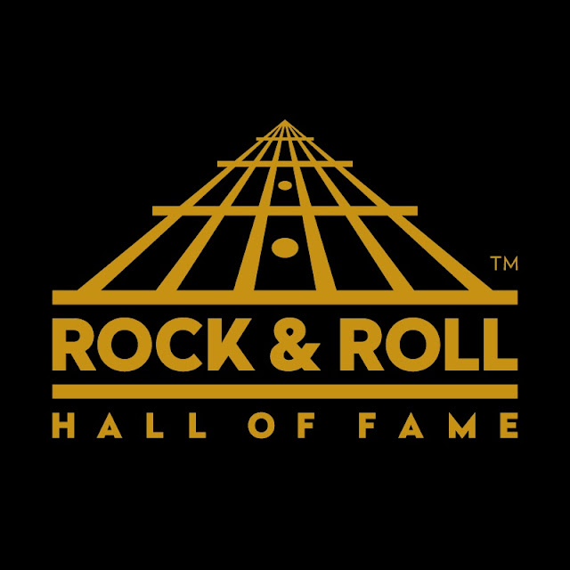 To zdjęcie przedstawia logo Rock & Roll Hall Of Fame