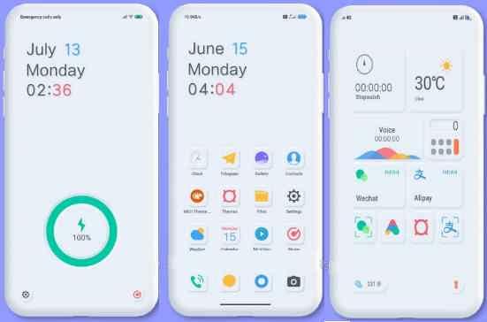 Simple White Premium UI Tema Xiaomi Redmi 2020 Terbaru