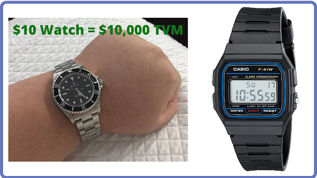 Timehacking - A $10 Watch With a $10,000+Plus Time Value Of Money?