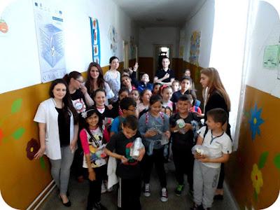 cu copiii din scoala generala