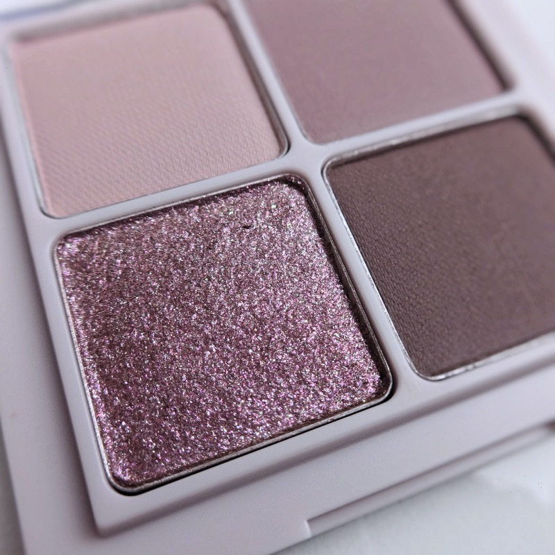 Romand Better Than Eyes Dry Violet review swatches