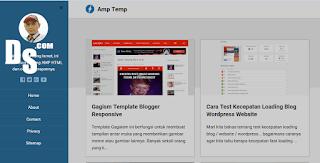 Template AMP Blogger - Gratis yang perlu anda coba !