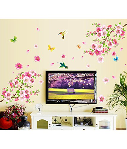 Flowers Branch Wall Sticker
