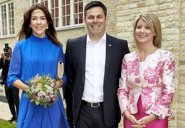 Crown Princess Mary met with, Ambassador Miller, Australia's Ambassador to Denmark, Norway and Iceland and Ambassador Stott Despoja