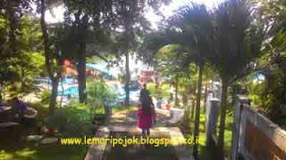taman wisata bendungan sutami kolam renang