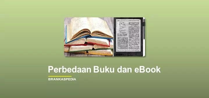 perbedaan buku dan ebook