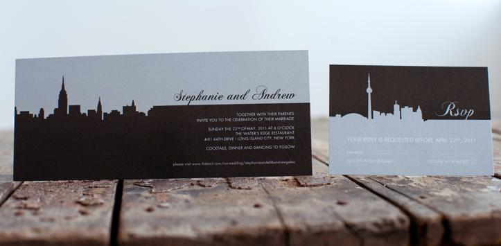 Wedding Invitation Printing Toronto: Sarah Bunnett-Gibson Wedding Officiant: It All Begins With