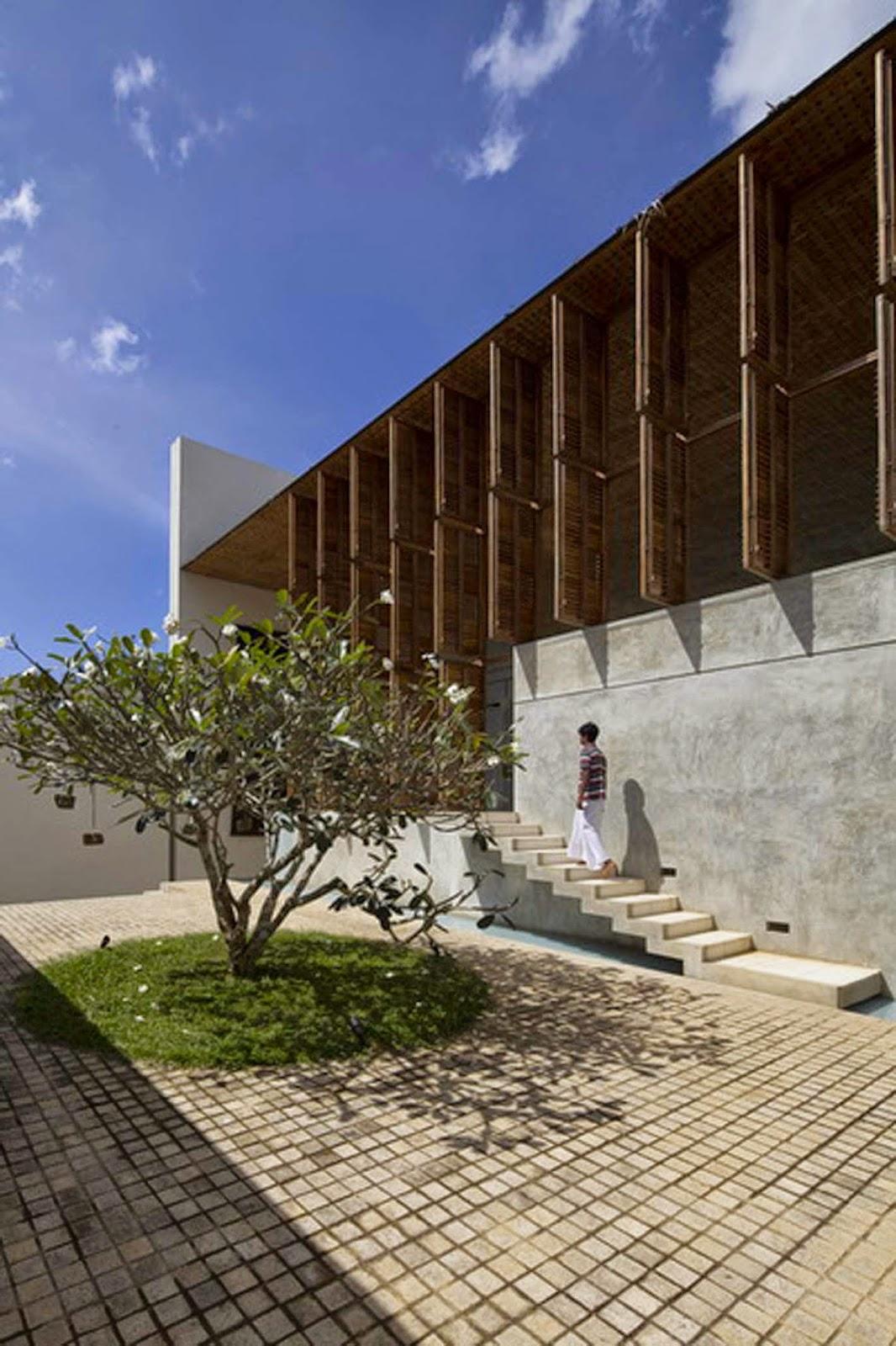 simplicity love villa vista sri lanka shigeru ban architects. Black Bedroom Furniture Sets. Home Design Ideas