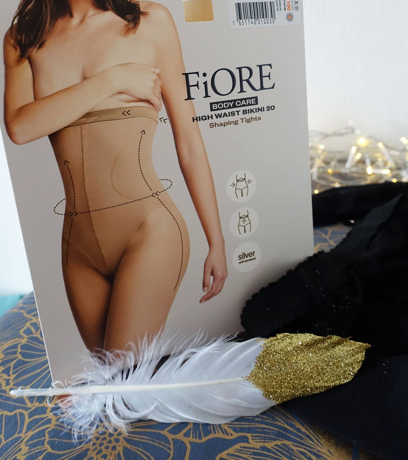 Do shaping tights work? These 20 denier black tights from FiOre do what many shaping garments don't