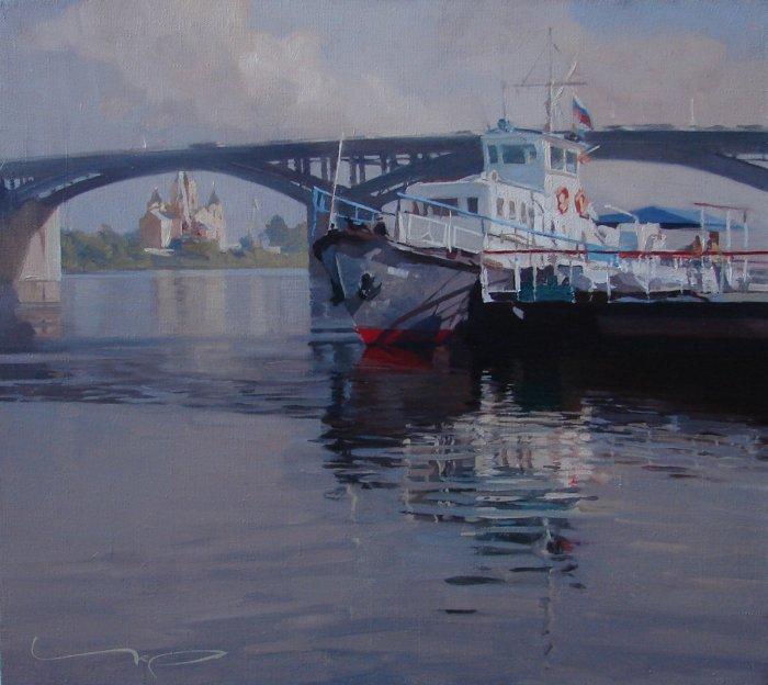 Российский художник. Алексей Чернигин