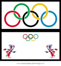 Olympics Party Food Labels - Freebie Printable at The Purple Pumpkin Blog