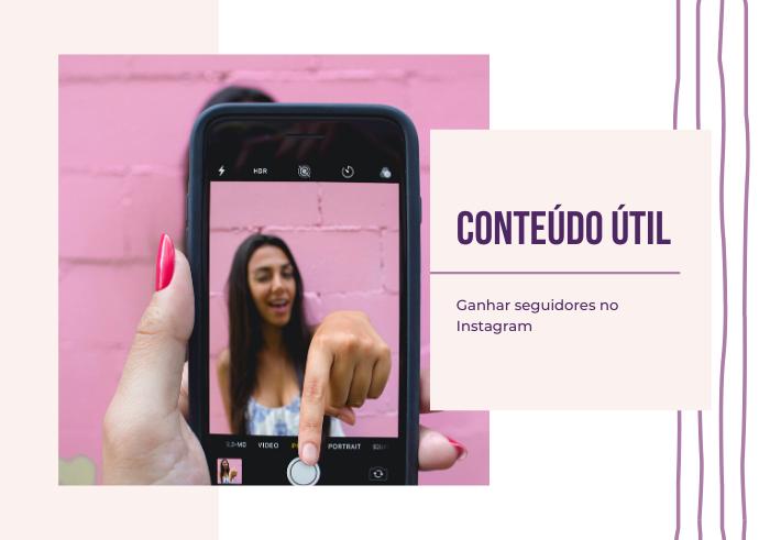 Conteúdo no Instagram