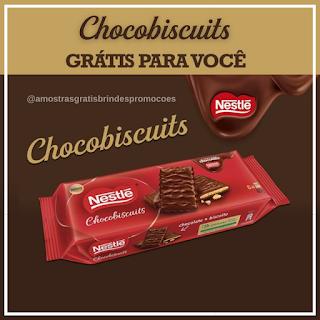 Ganhe Amostras Chocobiscuits Nestlé
