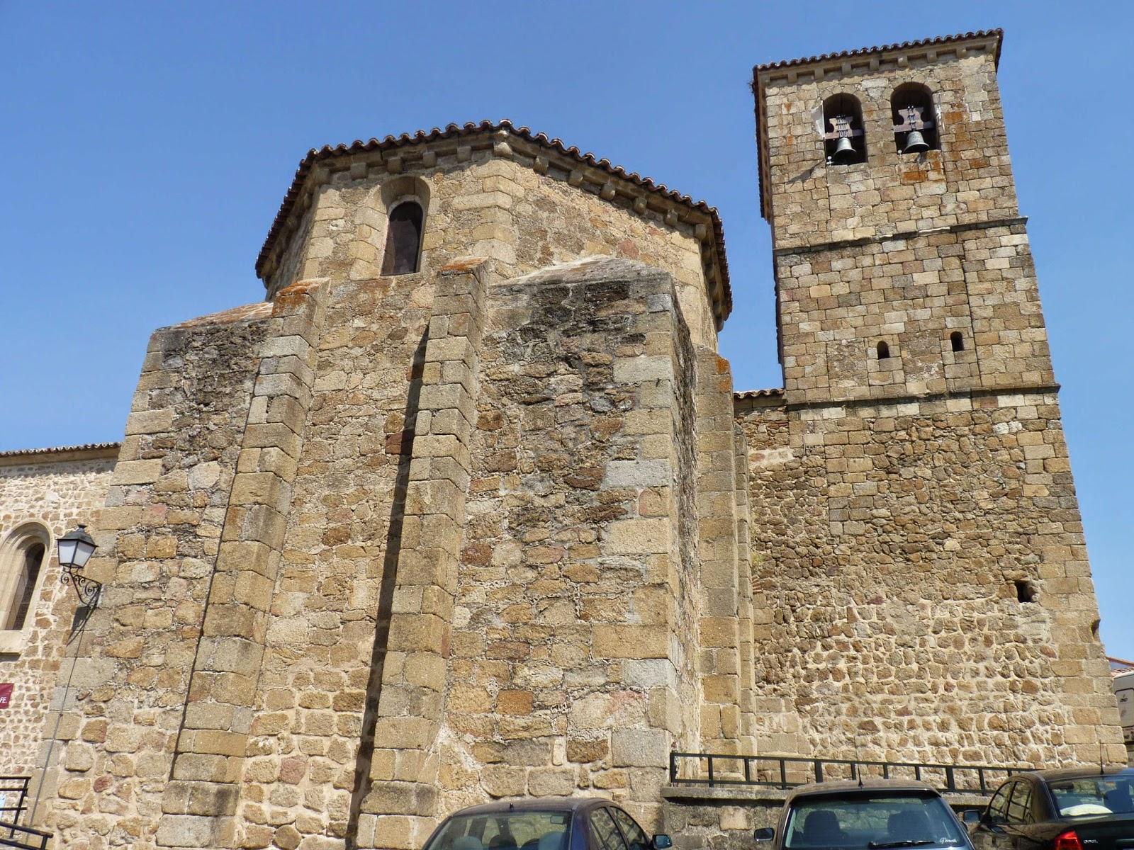 Iglesia del Salvador de Plasencia.
