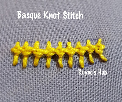 Basque Knot Stitch