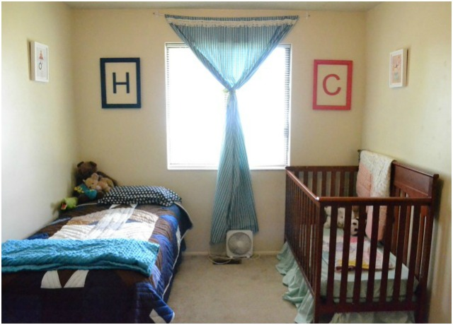 Boy and Baby Girl Shared Room
