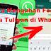 Cara Mengubah Warna Tulisan di Whatsapp