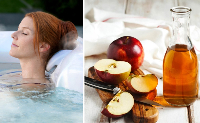 An Apple Cider Vinegar Bath Is  Right For You