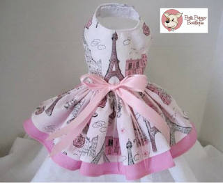 PINK PARIS THEMED DRESS